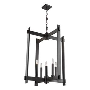 Artcraft Lighting CobiStyle Cityscape 5-Light Oil Rubbed Bronze Chandelier