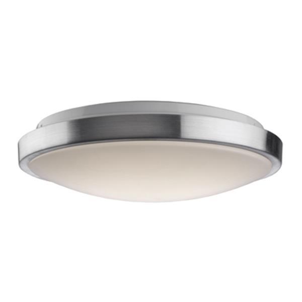 Artcraft Lighting Low Profile Led Flushmount Brushed Nickel Ceiling Light Ac7360 Rona