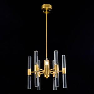 Bethel International MU Series Antique Brass 3-Light Chandelier
