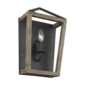 Feiss Gannet Collection 1-Light Wall Sconce.