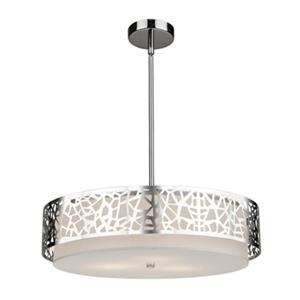 Artcraft Lighting Bayview 3-Light Chrome Ceiling Pendant