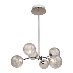 Artcraft Lighting Nightstar Chrome 6-Light LED chandelier
