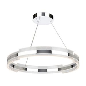 Artcraft Lighting Saturn Chrome LED Ceiling Pendant