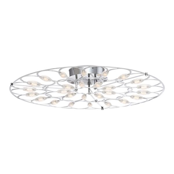 Eurofase Rotolo Integrated LED Semi Flush Mount Light