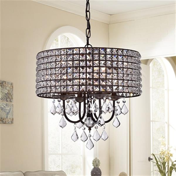 Warehouse of Tiffany Darlic 4-Light Pendant Light