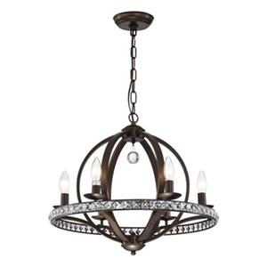 Warehouse of Tiffany Lovi 6-Light Pendant
