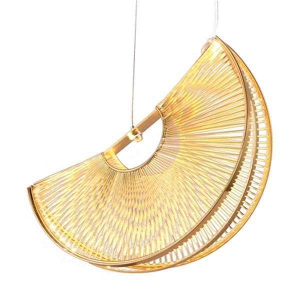 Design Living Gold LED Pendant Light