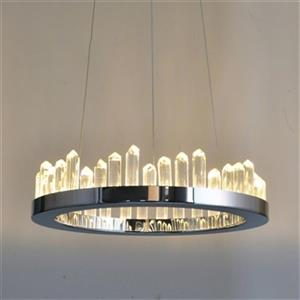 Design Living Ice Crystal LED Chandelier