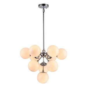 Bethel International Glass Globe Chandelier,DU103