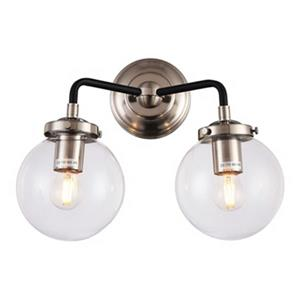 Design Living 2-Light Globe Wall Sconce