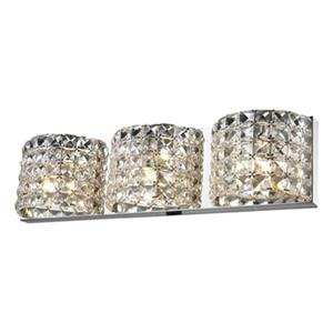 Design Living 3-Light Crystal Wall Sconce