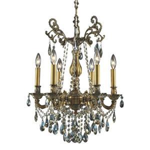 Design Living Brass Chandelier