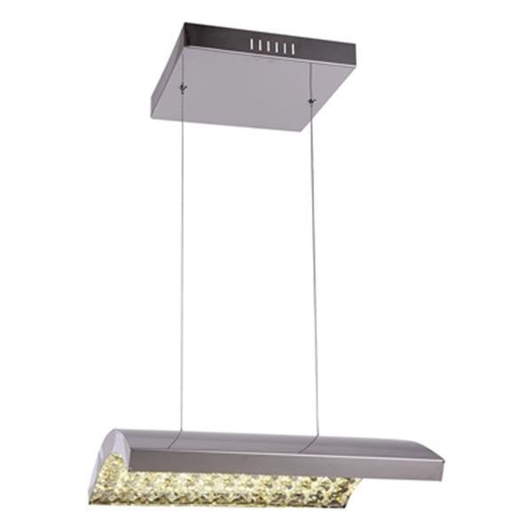 Design Living Chrome LED Pendant Light