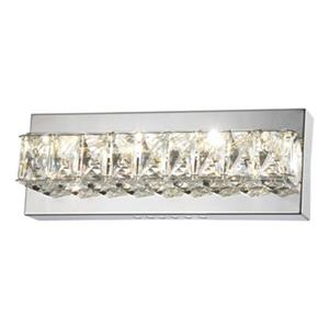 Design Living LED Crystal Wall Sconce