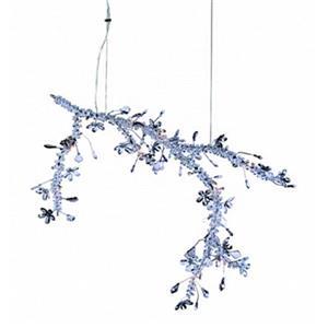 Design Living Crystal Branch Chandelier