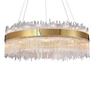 Design Living Gold Glass LED chandelier