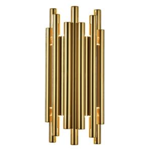 Design Living 8-Light Steel Rod Wall Sconce