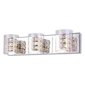 Design Living Glass 3-Light Wall Sconce