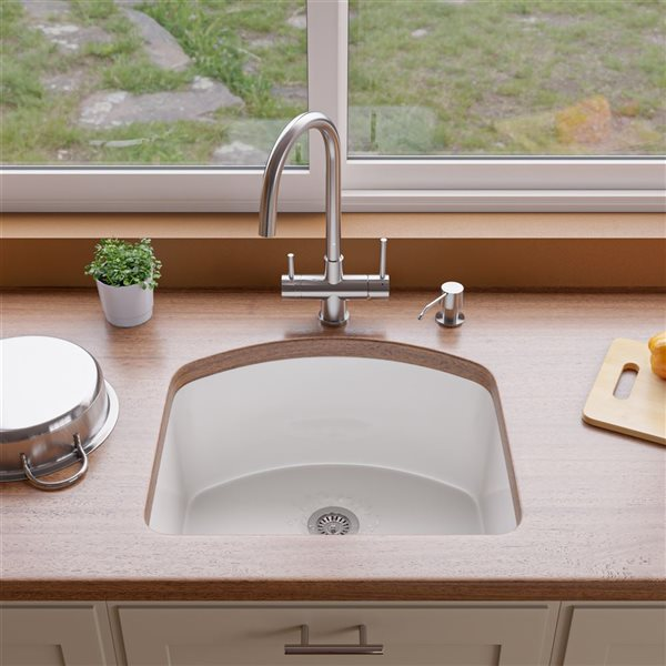 ALFI Brand 16-in Stainless Steel Drinking Water Kitchen Faucet