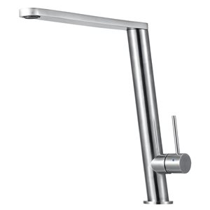 ALFI Brand 10.38-in Round Modern Stainless Steel Kitchen Faucet
