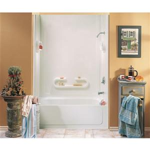 MAAX Parisienne 61 in. x 32 in. x 80 in. Polystyrene Tub Wall Kit
