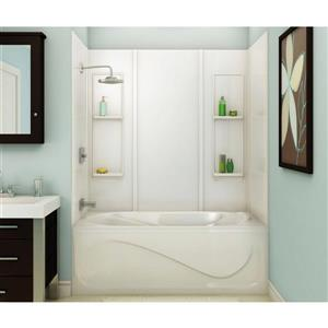MAAX Elan 61 in. x 32 in. x 59 in. Acrylic Tub Wall Kit