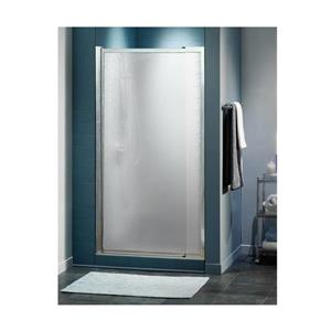 MAAX Pivolok 33 to 37-in x 65-in Chrome Hammer Shower Door