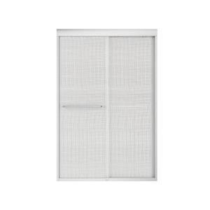 MAAX Aura 43-47-in x 71-in Chrome Efferv Shower Door