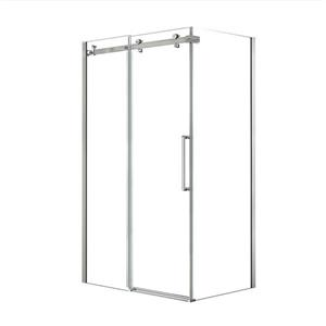 MAAX Halo 48-in x 34-in Chrome Shower Enclosure