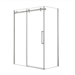 MAAX Halo 60-in. x 36-in.  Chrome Shower Enclosure