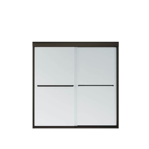 MAAX Aura Tub Door - 55-in x 57-in