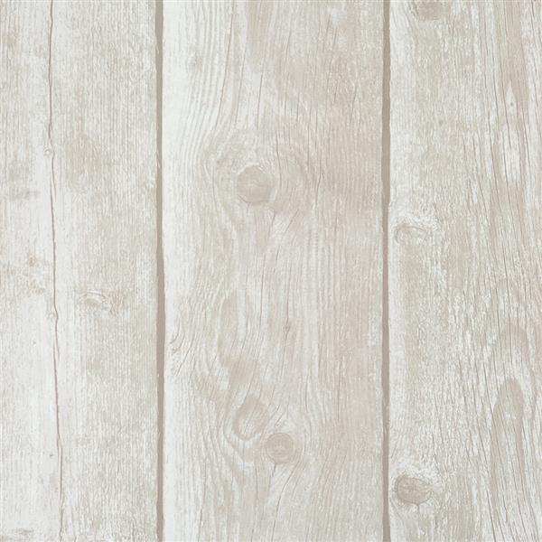 Papier peint à motif de planches de bois