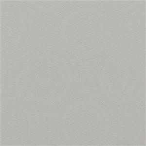 Walls Republic Light Grey/silver Geometric Non-Woven Paste The Wall Tribal Rings Wallpaper