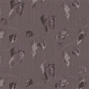 Walls Republic Purple Ruffled Leaflet Wallpaper