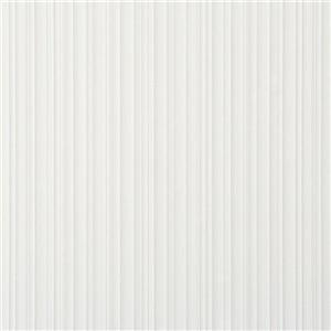 Walls Republic Ash Grey Stripes Non-Woven Paste The Wall Folds Textured Stripe Wallpaper