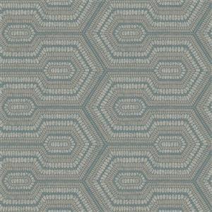 Papier peint perlé géométrique