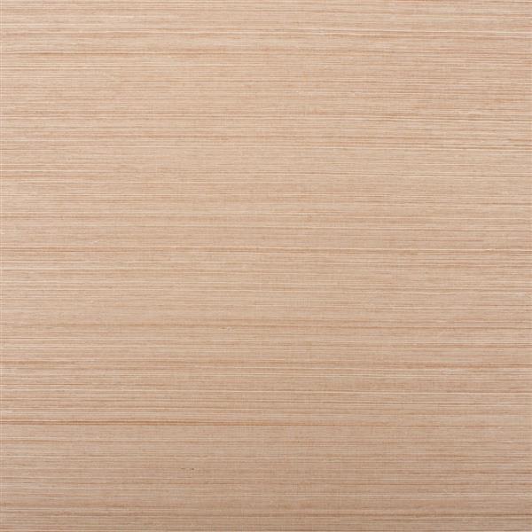 Walls Republic Beige & Brown Natural Woven Grasscloth Non-Woven Unpasted Wallpaper