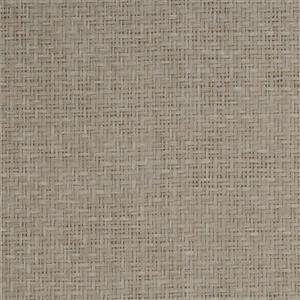Walls Republic Beige & Yellow Natural Basket Grasscloth Non-Woven Unpasted Wallpaper