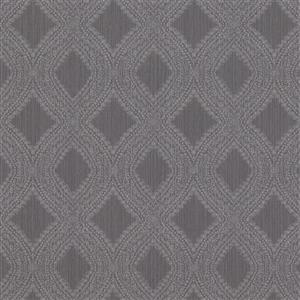 Walls Republic Grey Geometric Non-Woven Paste The Wall Geometric Diamond Weave Wallpaper