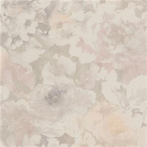 Walls Republic 57 sq ft Taupe/Orange Abstract Watercolour Splatters Wallpaper