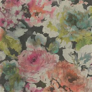 Walls Republic 57 sq ft Pink/Orange Abstract Watercolour Splatters Wallpaper