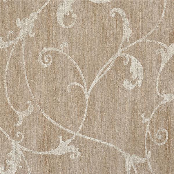 Papier peint florale ornemental