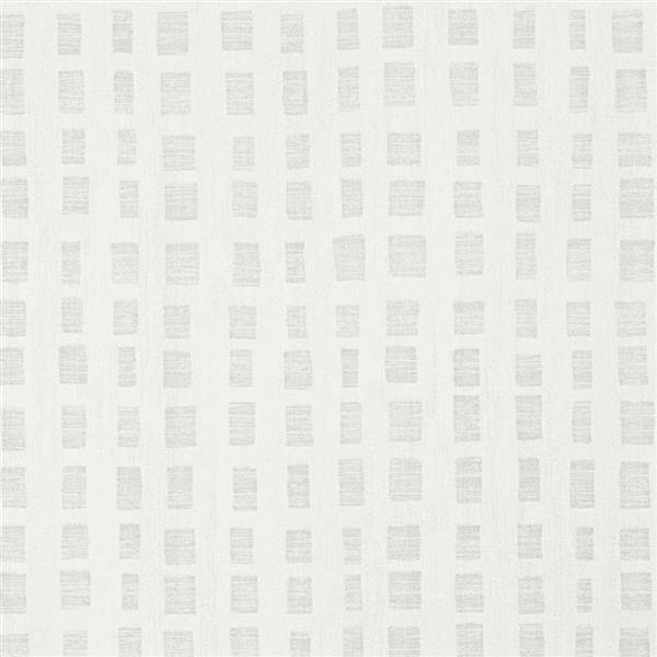 Brewster Wallcovering Scratched Geometric Squares 57sq-ft Snow Unpasted Wallpaper