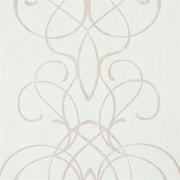 Papier peint damassée romantique