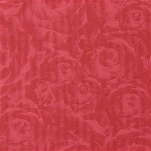 Walls Republic Tender 3-D Floral 57 sq ft Ruby Red Unpasted Wallpaper