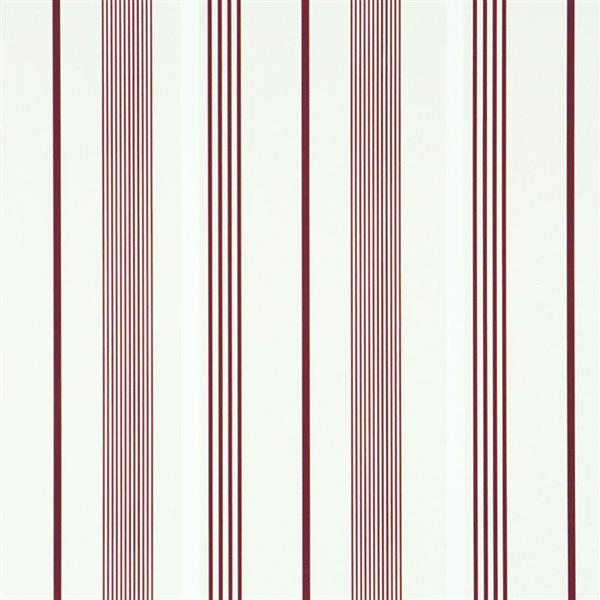 Walls Republic Path Red Striped Wallpaper