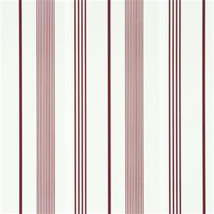 Walls Republic Path Red Striped Wallpaper
