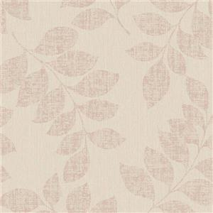 Walls Republic Tan Modern Leaf Branches Non-Woven Unpasted Wallpaper