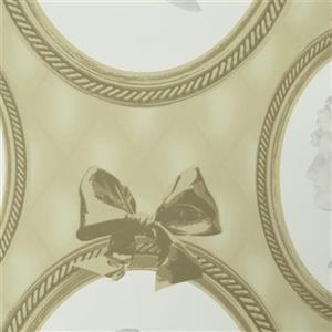 Walls Republic Impression Beige Ornamental Unpasted Wallpaper