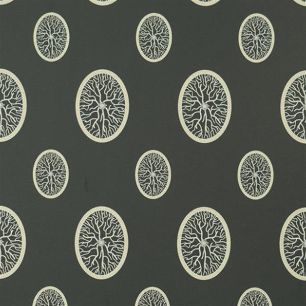 Walls Republic Black Abstract Non-Woven Paste The Wall Exciting Medallion Branch Wallpaper